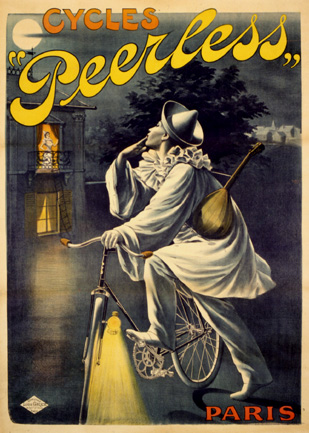 Cycles Peerless, ca. 1897<br> Anonymous<br> Lithograph<br> France