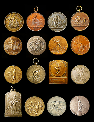 Figurative Racing Medals<br>